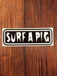 SURF A PIG ステッカー SS-1