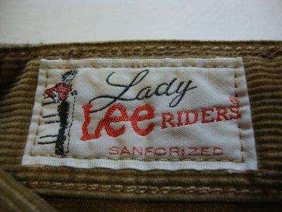 画像3: LEE リー レディース コーデュロイパンツ LL0512