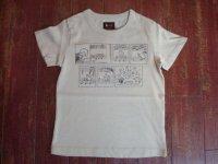 LEEリー キッズ ピーナッツプリントTシャツ 06602-169