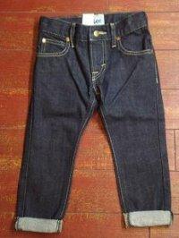 LEE (リー) キッズ ベーシックテーパードジーンズ 62301
