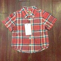リー キッズ 半袖ボタンダウンチェックシャツ LK1117