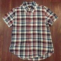 LEE(リー) レディース 半袖ボタンダウンチェックシャツ 89524