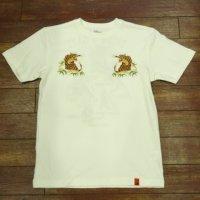 ステュディオ・ダ・ルチザン 刺繍スカTシャツ 9860