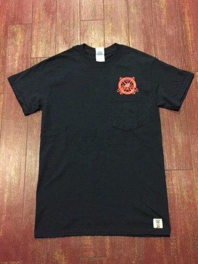 画像2: SURF A PIG(サーフ ア ピッグ) ポケット付きプリントTシャツ ST-7