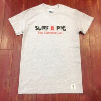 SURF A PIG(サーフ ア ピッグ) プリントTシャツ ST-9