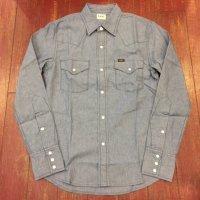 LEE(リー) シャンブレーウエスタンシャツ LT0500