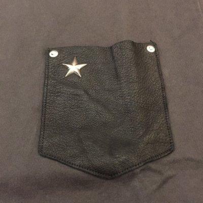 画像3: ショット レザーポケット付きTシャツ