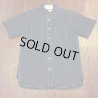 シュガーケーン フィクションロマンス ポルカドットウォバッシュ半袖ワークシャツ SC36670