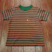 ウエアハウス(ダブルワークス) キッズボーダーTシャツ  KID'S-T-B