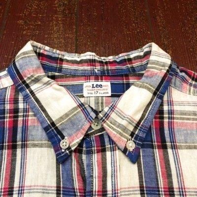 画像3: LEE (リー) 半袖ボタンダウンシャツ 19756