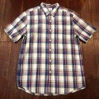 LEE (リー) 半袖ボタンダウンシャツ 19756