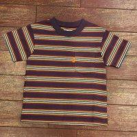 ウエアハウス(ダブルワークス) キッズボーダーTシャツ  KID'S-T-G