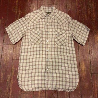 画像1: ウエストライド 半袖ウエスタンシャツ WR3004 S/S