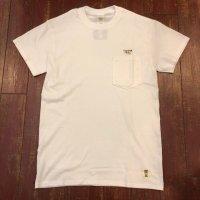 SURF A PIG(サーフ ア ピッグ) ポケット付き刺繍Tシャツ ST-12