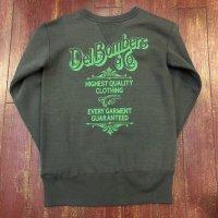 DelBombers&co.(デルボマーズ&コー) プリント両Vスウェットシャツ DCS-B
