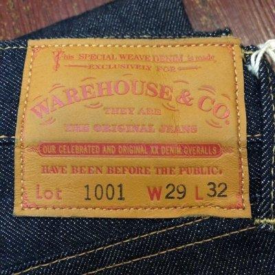 画像2: ウエアハウス 5ポケットジーンズ 1001