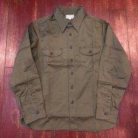 バズリクソンズ ヘリンボーンワークシャツ BR26081