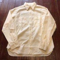 バズリクソンズ ホワイトシャンブレーワークシャツ BR25996