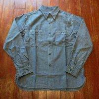 バズリクソンズ ブルーシャンブレーワークシャツ BR25995
