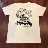 SURF A PIG(サーフ ア ピッグ) プリントTシャツ ST-16
