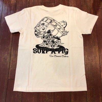画像1: SURF A PIG(サーフ ア ピッグ) プリントTシャツ ST-16