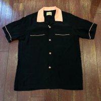 スタイルアイズ ツートーンボーリングシャツ SE38073