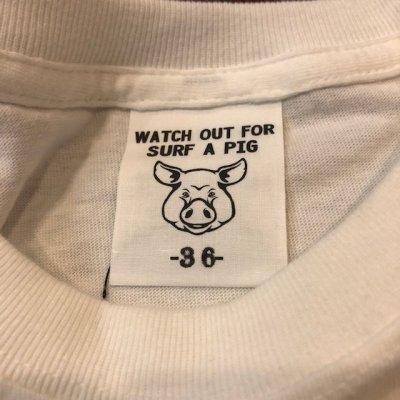 画像5: SURF A PIG(サーフ ア ピッグ) プリントTシャツ ST-16