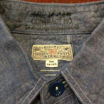 画像5: バズリクソンズ 半袖シャンブレーワークシャツ BR35856