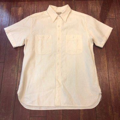 画像1: バズリクソンズ 半袖シャンブレーワークシャツ BR35857