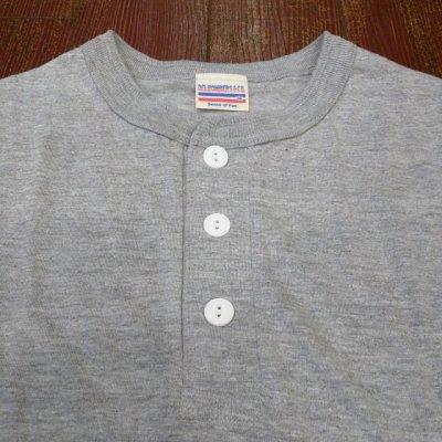 画像4: DelBombers&co. 2パックヘンリーネックTシャツ DUT-2