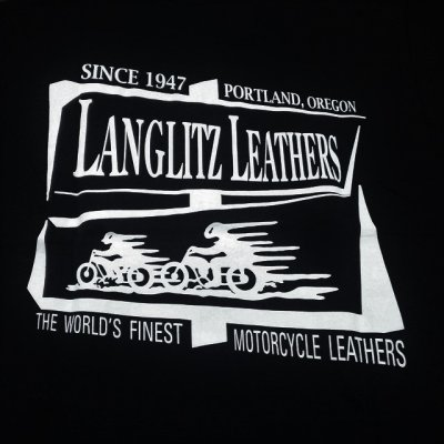画像2: ラングリッツレザーズ 半袖プリントTシャツ LL212