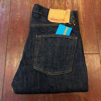 画像1: リゾルト 5ポケットジーンズ 710 レングス32 ワンウォッシュ
