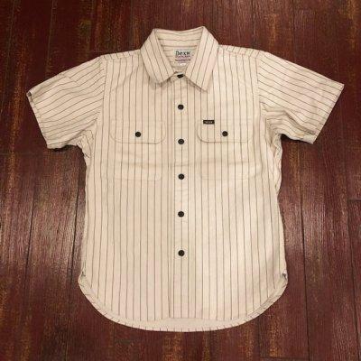 画像1: デラックスウエア 半袖ワークシャツ WWS-26