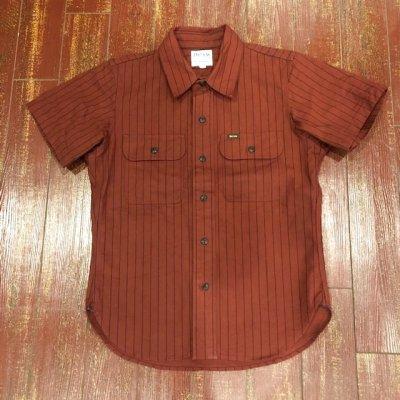 画像2: デラックスウエア 半袖ワークシャツ WWS-26