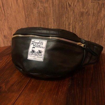 画像1: ラングリッツレザーズ レザーウエストバッグ インサイドポケット