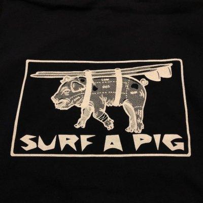 画像2: SURF A PIG(サーフ ア ピッグ) プリントプルオーバーパーカー SW-5PC