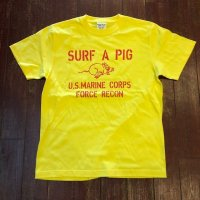 SURF A PIG(サーフ ア ピッグ) プリントTシャツ ST-22