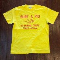 SURF A PIG(サーフ ア ピッグ) プリントTシャツ ST-22