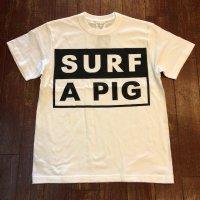 SURF A PIG(サーフ ア ピッグ) プリントTシャツ ST-24