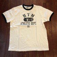 ヒューストン プリント リンガーTシャツ 20516