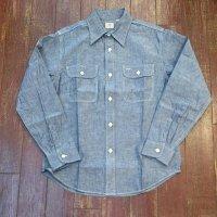 シュガーケーン シャンブレーワークシャツ SC27850
