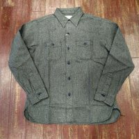 シュガーケーン ビーチクロスワークシャツ SC28283