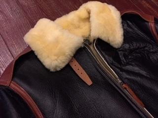 冬のレザージャケット #2