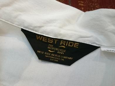 ウエストライドのシャツ!