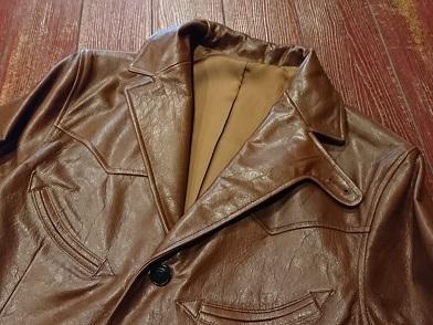 ウエストライドのレザーテーラードジャケット!