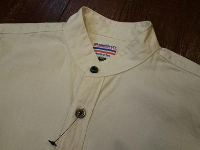 オリジナルのバンドカラーシャツに新色が登場しました!