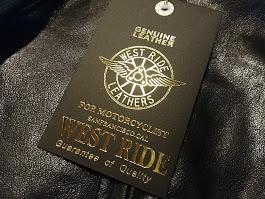 ウエストライドのゴートスキンシリーズ入荷!