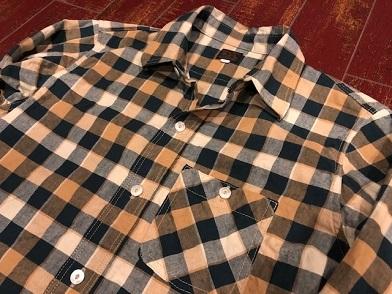 デラックスウエア ブロックチェックシャツ!!