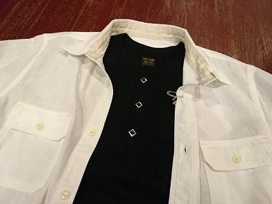 ウエストライドのヘンリーネックTシャツ!