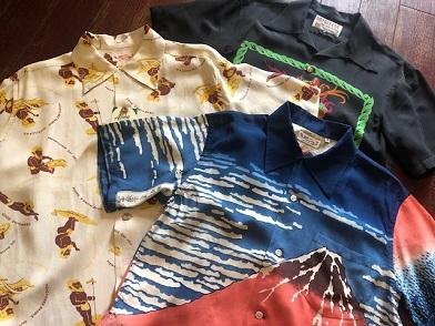 ハワイアンシャツを着ましょう!!